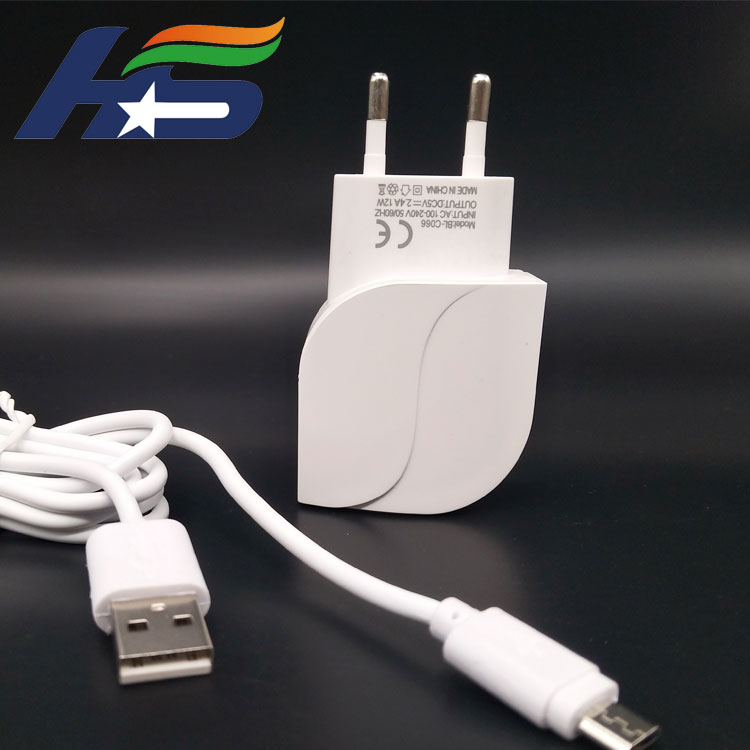 Francy USB Phone Charging Wall Adapter Charger with Cable