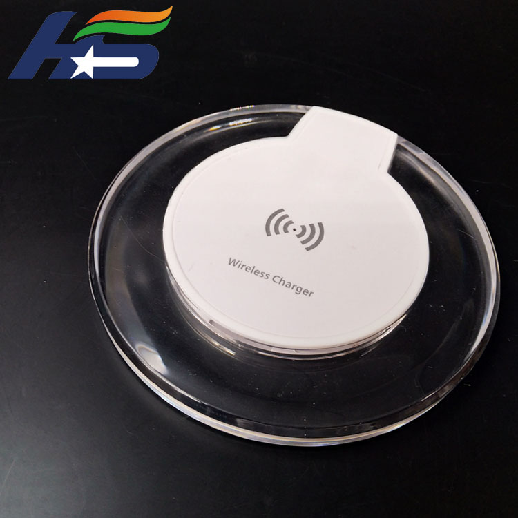 Crystal Wireless Charger Pad